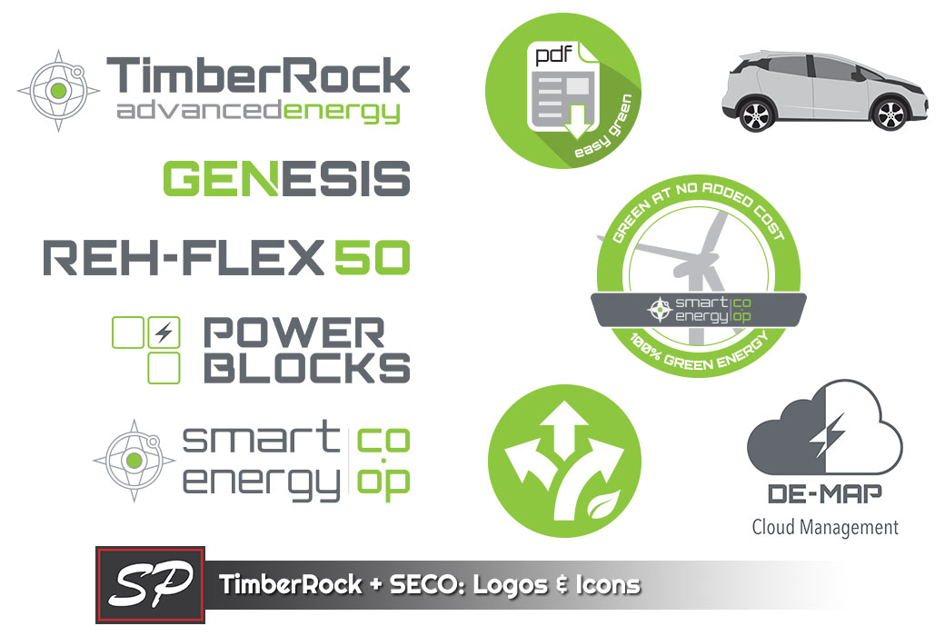 TimberRock Advanced Energy Logos & Icons